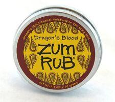 Dragon's Blood Zum Body Muscle Rub Indigo Wild 2.5oz NEW massage tattoo skin