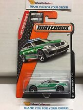 BMW M5 Police #53 * Grey/Green * Matchbox * NA6