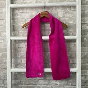 The North Face Youth Pink Fleece Scarf