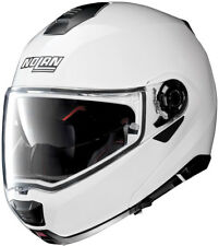 casco da moto modulare e apribile NOLAN N 100.5 SPECIAL N COM BIANCO TAGLIA L