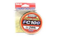 Sunline System 100 Fluorocarbon Shock Leader Line 30m 70lb (7032)