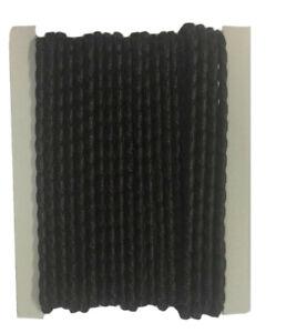 1 m 35g schwarzes Bleiband EU Norm, Bleikordel, Beschwerung für Gardinen