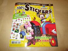 la maison de mickey 100 % stickers. histoires / coloriages / jeux  .