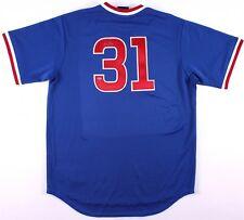 Greg Maddux Signed Chicago Cubs Jersey (Schwartz COA) 4 X CY Young Award Winner