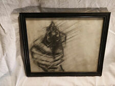 Brian Knauer, American, Drawn, c.1990 Paper and Pencil, Framed