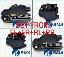 VW PASSAT B5, GOLF IV, SKODA OCTAVIA 4XSET DOOR LOCK MECHANISM FL+FR+RL+RR