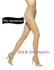 No Nonsense All-Over Shaper Silky Pantyhose, Beige Mist,  Size A