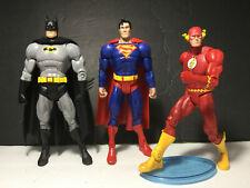 DC Universe Classics THE FLASH, SUPERMAN, BATMAN
