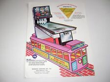 Williams United Golden Triangle Puck Bowler Shuffle Original flyer brochure