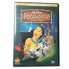 Pocahontas 10th Anniversary Edition 2 Disk Set 2005 DVD Release Walt Disney