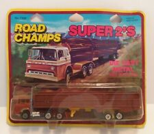 Yatming - Road Champs - Super 2's - Tractor Trailer - ***New In Plastic***