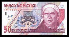 Banco de Mexico 50 Pesos Series CS 23.ABR.1999 P-107d UNC.