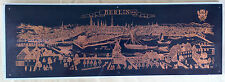 "Berlin Germany VTG 1755-68 20"" Copper Etching Engraving Spree Fluss Probst Wall"