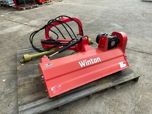 WVF130 - Winton Heavy Duty Verge Flail - 1.3m Wide - For Compact Tractors - USED