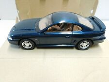 1995 FORD MUSTANG PROMO MODEL  WITH BOX  DEEP FOREST GREEN