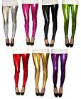Ankle Length Leggings Ultrashine With Spandex Size 6-16