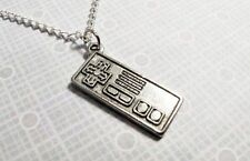 Retro Videogame Controller Necklace, Video Game Nintendo NES Gamer Geek