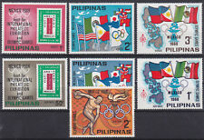 Philippines 1968 UNISSUED almost complete set OLYMPIC 68 / EFIMEX