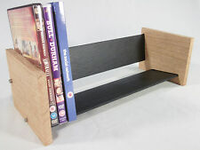 Oak Slate Design DVD Rack - Modern Contemporary Style