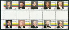 Colombia 892a-j, MNH, Famous People x2354