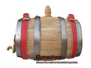 0,5 L Tonneaux en bois ovale Chien Saint Bernard Fûts de vin