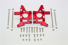 T-MAXX .15 2.5 3.3 ALL E-MAXX  GPM  REAR BULKHEAD RED ALUMINUM TMX1013