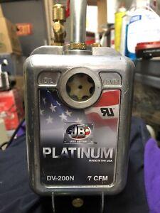 Jb Industries DV-200N 7 CFM Platinum Vacuum Pump  - Excellent
