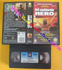VHS film NEL CONTINENTE NERO Diego Abatantuono Marco Risi PEPITE (F125) no dvd