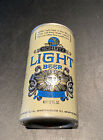 Vintage SCHLITZ LIGHT BEER 12 oz Aluminum Pull-Tab Can Top Opened Very Clean