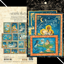 Graphic 45 DREAMLAND Ephemera & Journaling Cards x32