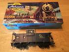 Athearn Trains in Miniature C&O Wide Vision Caboose Model 5362