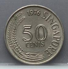 Singapore - 50 Cents 1976 - KM# 5