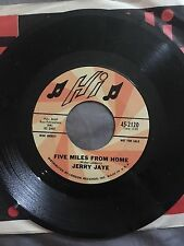 Jerry Jaye 45 My Girl Josephine / Five Miles From My Home DJ copy London Records