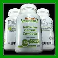 100% PURE Garcinia Cambogia 1500MG -3 MO SUPPLY-WEIGHT LOSS MIRACLE - FAT BURNER