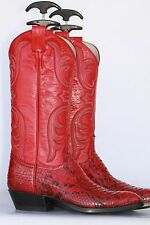 NEW Remington custom made snakeskin ladies cowboy boots 7 B Made in USA! NWOB