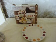 Rayware Cappuccino 4 Piece breakfast set NEW Plate Bowl Mug Egg Cup