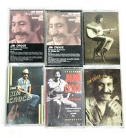 Lot 6 Jim Croce Cassette ,Greatest Hits, I Got Name, Best of Jim Croce