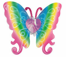 Rainbow Fairy Butterfly Wings Cute Sexy womens Halloween Costume Accessory 21""