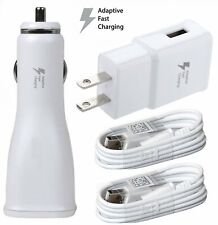 For LG K20 V / K20 Plus OEM Adaptive Fast USB Car+Wall Charger+Micro Cable Kit