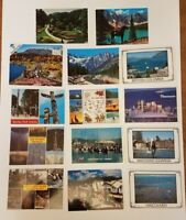 Vintage mixed Lot of 14 Vancouver and British Columbia Postcards