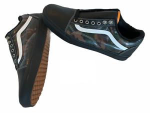 Vans Old Skool MTE Black Camo Leather Weatherized Shoes Men's Size 11 NIB New⭐