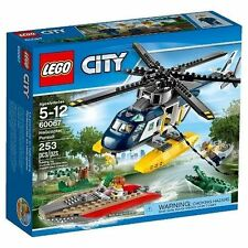60067 HELICOPTER PURSUIT police city town lego NEW sealed lego set swamp gator