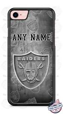 Oakland Raiders Logo with Name Phone Case Cover For iPhone LG Samsung etc