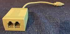 Farallon PhoneNET 2-Port Apple Phone Adapter Appletalk/Localtalk