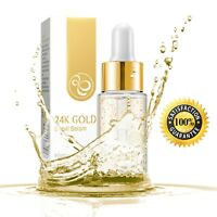 24K Gold HYALURONIC ACID Face Serum Anti Wrinkle with Snail Slime Extract