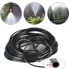 20Meters Garden Irrigation Drip Pipe 3/5mm Micro Supply Tube Hose Line Dripper