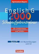 English G 2000 Bd. 1. Gymnasium Bayern. Schulaufgabentrainer     *9783464356371*
