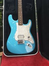 Beautiful Stagg One Humbucker Superstrat Guitar In Very Attractive Daphne Blue