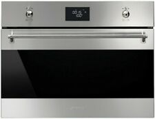 Smeg 60cm Classic Aesthetic 5 Function Compact Electric Steam Oven SFA4390VX1