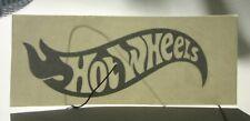 auto-collant HOT WHEELS silver sticker